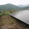 太陽光発電を開始してから初めて2週連続で発電所に行きました