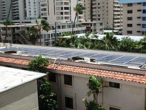 ハワイ,ホテル,太陽光発電