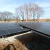 1号機太陽光発電所の年内最後の視察に行ってきました!問題なし!