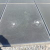 太陽光発電所2号機点検 パネルが割れてました!