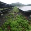 過去最低の発電量だったので雨の中太陽光発電所の日常点検をしてきました